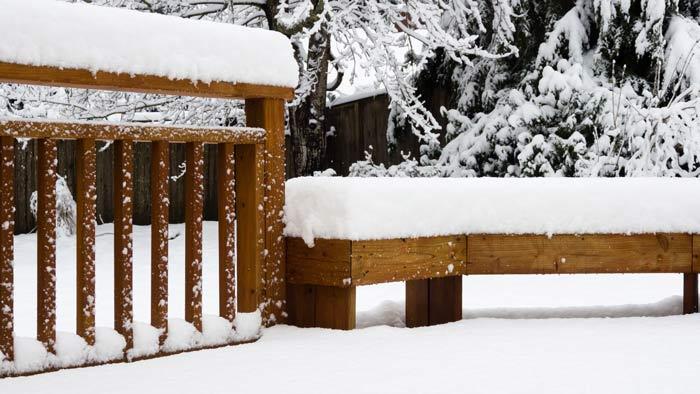 Winter Decking Michigan Building Supply